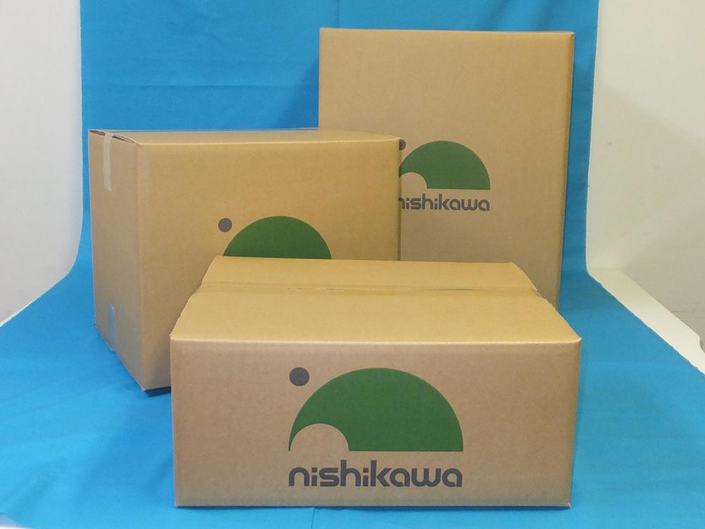 印刷ダンボール箱 社名印刷 ロゴ印刷 社名入り ロゴ入り 段ボール箱 納品用 輸送用 搬送用 業務用 出荷用