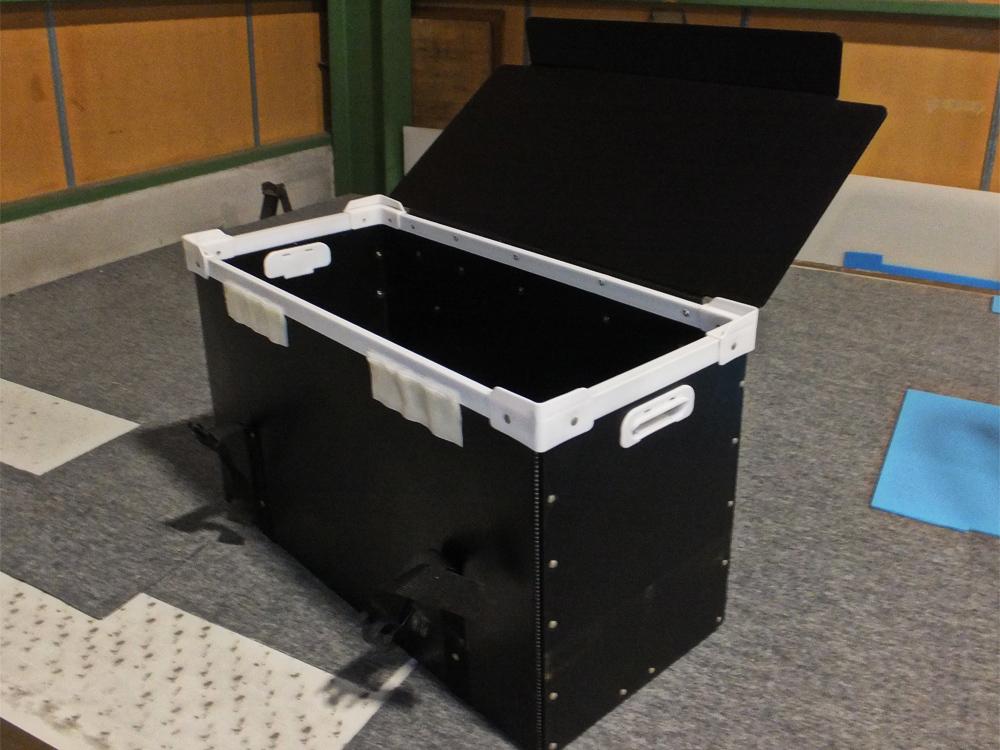 プラスチックダンボール プラダン ダンプラ 導電性プラダン 通い箱 電子部品用 搬送トレー 精密機器用 強化ダンボール トライウォール