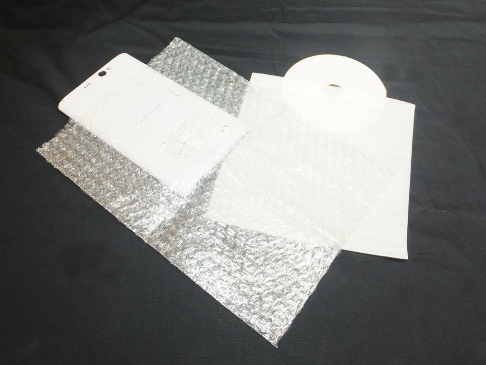 ミラーマット袋 緩衝材 プチプチ CD